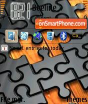 Capture d'écran Puzzle thème