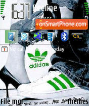 Adidas 15 theme screenshot