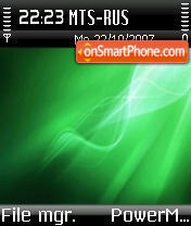 Deadpxl Pxl Plus Green S60 v2 theme screenshot