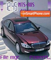 Mercedes S Class theme screenshot