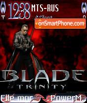 Blade3 Trinity Fulle With New Clock es el tema de pantalla
