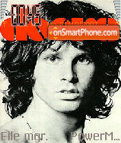 Jim Morrison theme screenshot