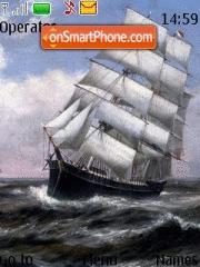 Скриншот темы Sea Wavers