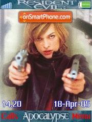 Resident Evil es el tema de pantalla