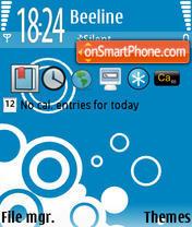 Oxygen theme screenshot
