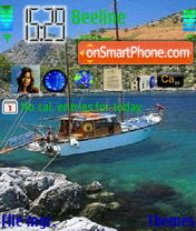 Sea 01 tema screenshot