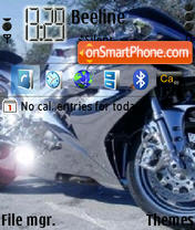 Moto 02 theme screenshot