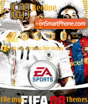 FIFA 08 V1 02 theme screenshot