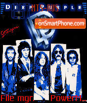 Deep Purple tema screenshot