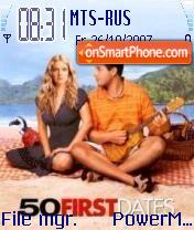 50 First Dates theme screenshot