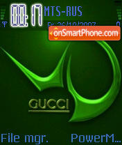 Gucci 05 theme screenshot