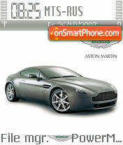Aston Martin V8 es el tema de pantalla