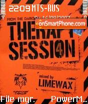Therapysession 4 Mix Limewax tema screenshot