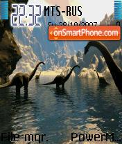 Jurassic Park Animated theme screenshot