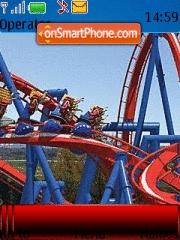 Rollercoaster tema screenshot