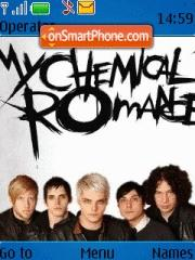 My Chemical Romance 03 theme screenshot