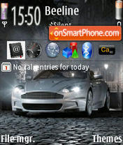 Aston Martin 06 theme screenshot