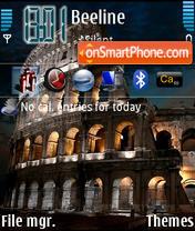 Colosseum theme screenshot