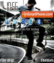 Skate es el tema de pantalla