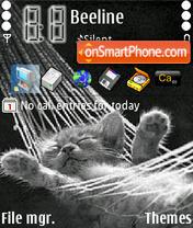 Скриншот темы Cat 08