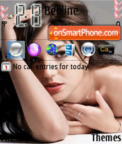 Britney 06 theme screenshot