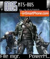 Terminator 01 es el tema de pantalla