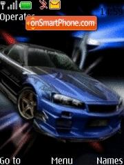 Nissan Skyline GTR Theme-Screenshot