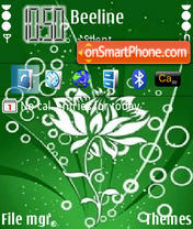 Green Lamour 01 theme screenshot