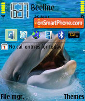 Dolphin 03 theme screenshot