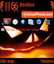 Halloween 04 theme screenshot