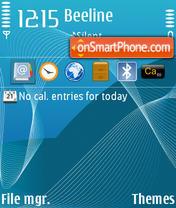 Blue 05 theme screenshot