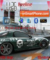 NFS Pro Street 01 theme screenshot