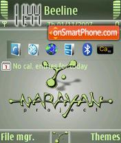 Narayan theme screenshot