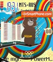 Moscow 80 theme screenshot