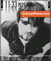 Kurt Cobain 02 es el tema de pantalla