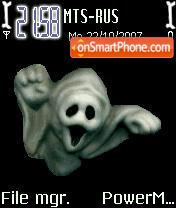 3d Ghost Animated es el tema de pantalla