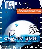 I Love U Animated es el tema de pantalla