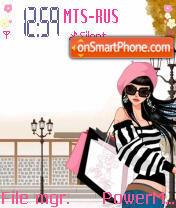 Girl Shopping es el tema de pantalla