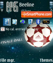 Football 02 theme screenshot