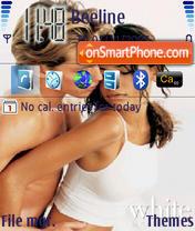 Скриншот темы Lavstory