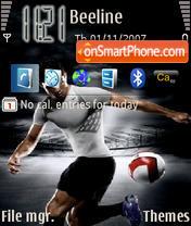 Ronaldo 01 theme screenshot