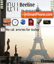 Tourd Eiffel theme screenshot