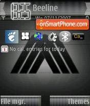 Black MM theme screenshot