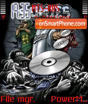 Hip Hop tema screenshot