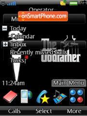 The Godfather 01 theme screenshot