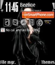 Black Lady es el tema de pantalla