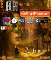 Скриншот темы Autumn Fairy