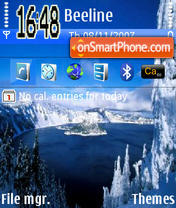Winter Lake es el tema de pantalla