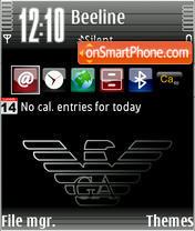 Скриншот темы Diamonds 3rd