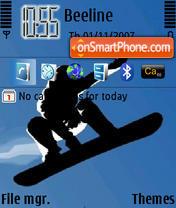 Snowboard theme screenshot